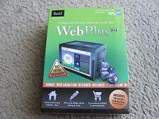 Brand New Serif WebPlus Web Plus X4 Professional Quality Websites Made Easy