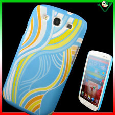 Custodia rigida PARTY per Samsung Galaxy S3 i9300 BLUE SIII back cover searoller