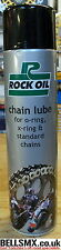 Rock oil Chain lube for O-ring, X-ring and standard chains. (600ML)