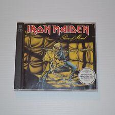 IRON MAIDEN - Piece of mind - 1995 UK CD + BONUS CD