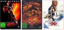 3 DVDs * xXx - TRIPLE X - 1 + 2 + 3 IM SET # NEU OVP +<