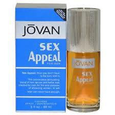 * Jovan Sex Appeal * Coty 3.0 oz Men Cologne New In Box