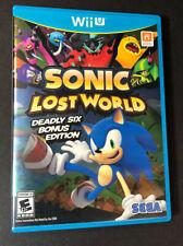 Sonic Lost World [ Deadly Six Bonus Edition ] (Wii U) USED