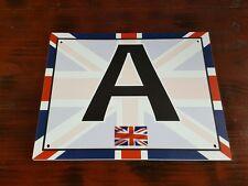 Dressage Arena Markers / Letters x 8 FULL COLOUR UNION JACK DESIGN !