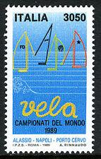 Italy 1767, MNH. Velo World Yachting Championships, 1989