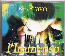 PATTY PRAVO CD single sigillato L'IMMENSO nuovo SEALED  2002 SANREMO 2 tracce