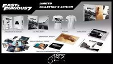 FAST & FURIOUS 7 Nakshatra CineMuseum SteelBook Collector's Edition Region Free