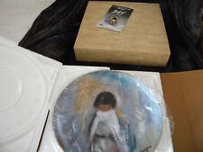 "Vintage DeGrazia ""Blue Boy"" Plate Limited Edition/Original Box w/Hanger/ 1982"