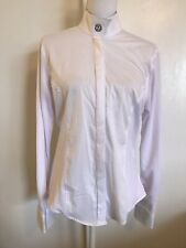 R.J. Classics Prestige White Show Shirt 36 Snap Collar Monogrammed