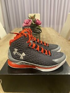 """Under Armour Curry 1 BASKETBALL SHOES """"Davidson"""" Sz 9 US"""