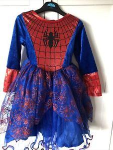 Marvel Spiderman/Spider🕷 Girls Dress 6-7 Years