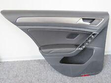 Original Türverkleidung hinten links Leder schwarz VW Golf 7 VII 5G