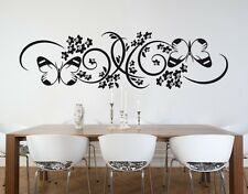 Butterfly Branch - Highest Quality Wall Decal Sticker