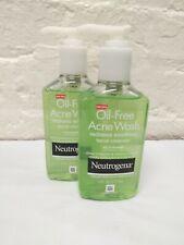 2 Neutrogena Oil-Free Acne Wash, Salicyic Acid Acne Treatment, 6 fl oz EXP 03/21
