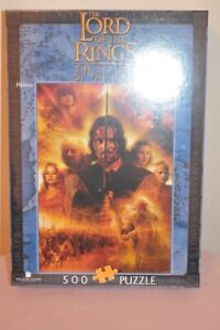 Lord of the Rings Blue Opal Jigsaw ROTK Heroes New in the Box
