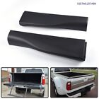 Tailgate Molding Trim End Cap Charcoal Set Fit For 10-16 Ford Pickup Flex Step