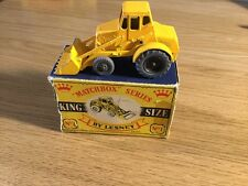 VINTAGE IN SCATOLA MATCHBOX LESNEY King Size K-1 numero 1 Weatherill pala idraulica