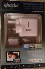 Dexim White Charger for Apple iPod, iPhone, iPad [Dexim DCA213BW]