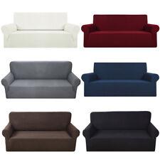Housse Canapé Spandex Polyester Lycra Fini 1/2/3 Place Sofa Fauteuil Extensible