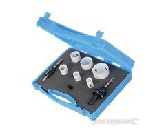 Coffret D'électricien 9 Scies-cloches 18 - 51 mm Bi-métal Silverline