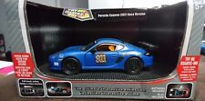 MSZ VROOM PORSCHE CAYMAN 987 RACE VERSION DIECAST 1/32  EXOTIC CAR COLLECTION