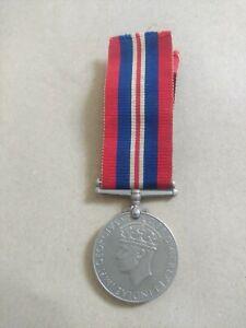 BRITISH 1939-1945 KING GEORGE VI WAR MEDAL
