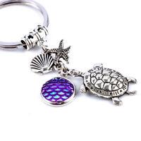 Handmade Fashion Metal Pendant Scales Turtle Key Chain Key Ring Gift Accessory