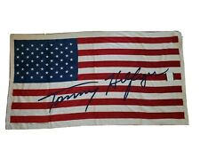 NEW Tommy Hilfiger Oversized Beach Towel American Flag Signature NWT