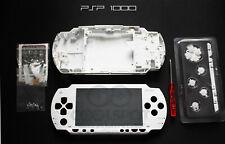 PSP 1000 1XXX White Full Housing Kit - UK Dispatch