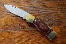 VINTAGE HI STAINLESS STEL FOLDING KNIFE - Excellent Unused - Hong Kong