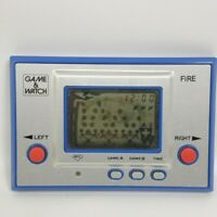 LCD FIRE Game Watch Handheld RC-04 Nintendo JAPAN Tested Ref 1915