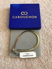 Cabouchon - Gold Plated Bracelet
