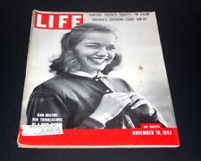 LIFE MAGAZINE NOVEMBER 10 TH 1952 JEAN HUSTON DUCK HUNTER