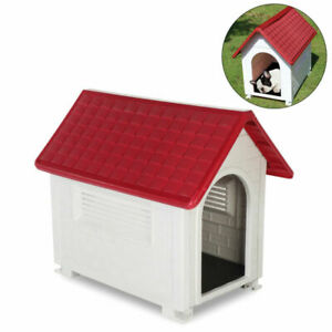 GREEN LEAF PLASTIC DOG HOUSE