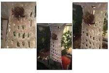 "Hermit Crab Climbing Net Extra Ladder Hammock or Wall 9x4"" 100% Cotton (Natural)"