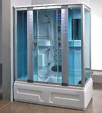 Steam Shower Cabin & Acupuncture,Massage,Whirlpool Tub.BLUETOOTH.US Warranty