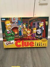 THE SIMPSONS Clue Board Game 2nd Edition 2002 Parker Brothers Complete