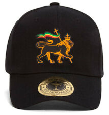 Rasta Lion of Judah Adjustable Baseball Hat