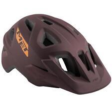 Mountainbike Fahrrad Helm Met Echo Burgunderrot matt 57 60