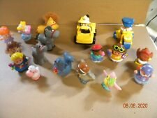 Fisher Price Little People Lot of Animals People Figures vehicle