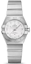 12310272055002 Omega Constellation / Horloge Femme / Cadran Nacre Bi