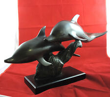 Large Bronze of Porpoise