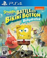 Spongebob Squarepants: Battle for Bikini Bottom Rehydrated (PS4) BRAND NEW