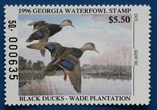 U.S. (GA12) 1996 Georgia Waterfowl Conservation Stamp (MNH)