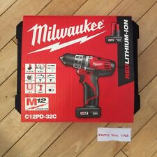 Milwaukee M12 C12PD - Hammer / Drill / Driver - Empty Tool Box / Case -