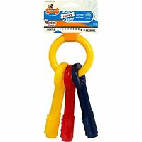 Nylabone Just For Puppies Extra Small Key Ring Bone Puppy Dog Teething Chew Toy