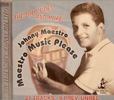 JOHNNY MAESTRO 'Maestro Music Please' - 27 Tracks