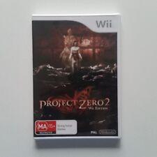 Project Zero II 2 Wii Edition Nintendo Wii PAL - BRAND NEW Aus Stock