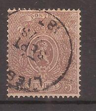 Belgium   Sc# 26b   Used   1867   Cat Val $90