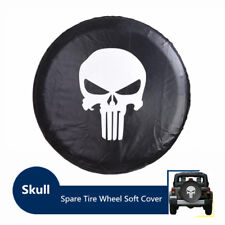 "Spare Tire Wheel Soft Cover Leather Case Protector 23-32 33"" for Jeep Wrangler"
